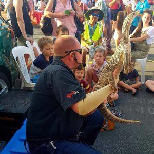 lizard standing event